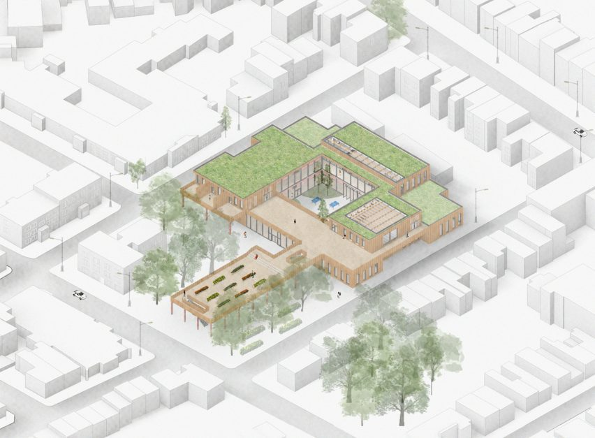 """A bird's eye view of a """"safe haven"""" in Peckham"""