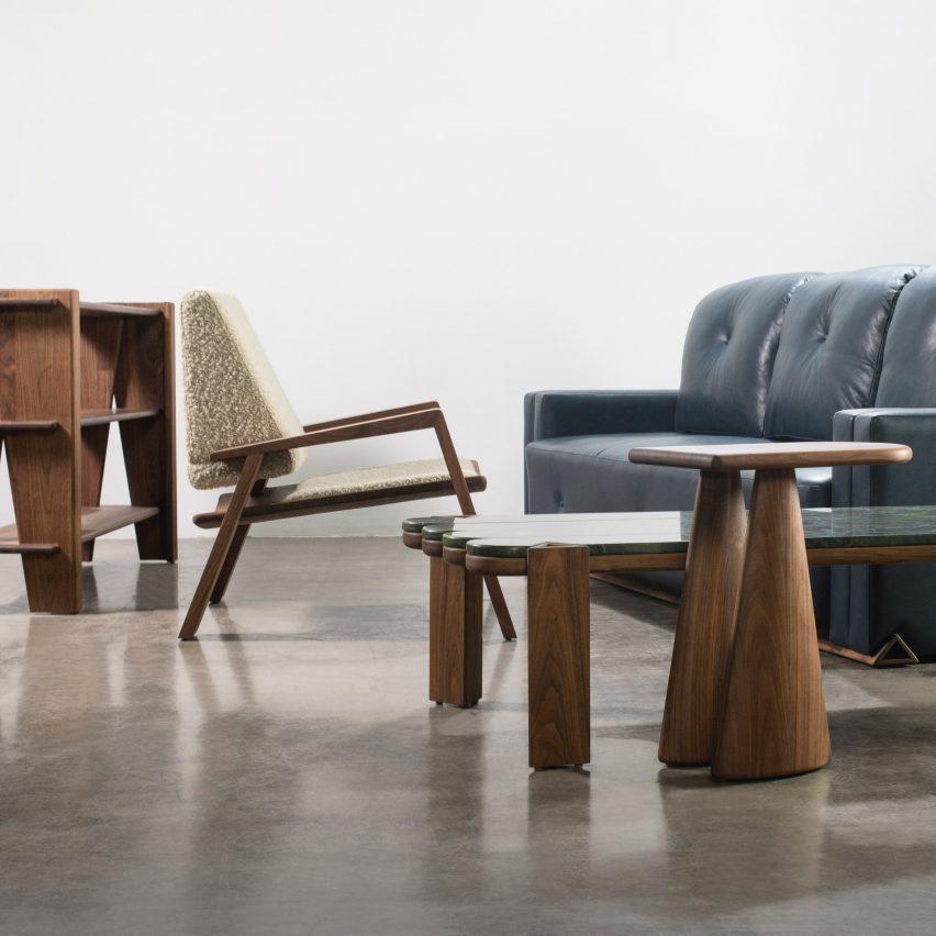 Фигуры из коллекции мебели для дома от Леви Кристиансена