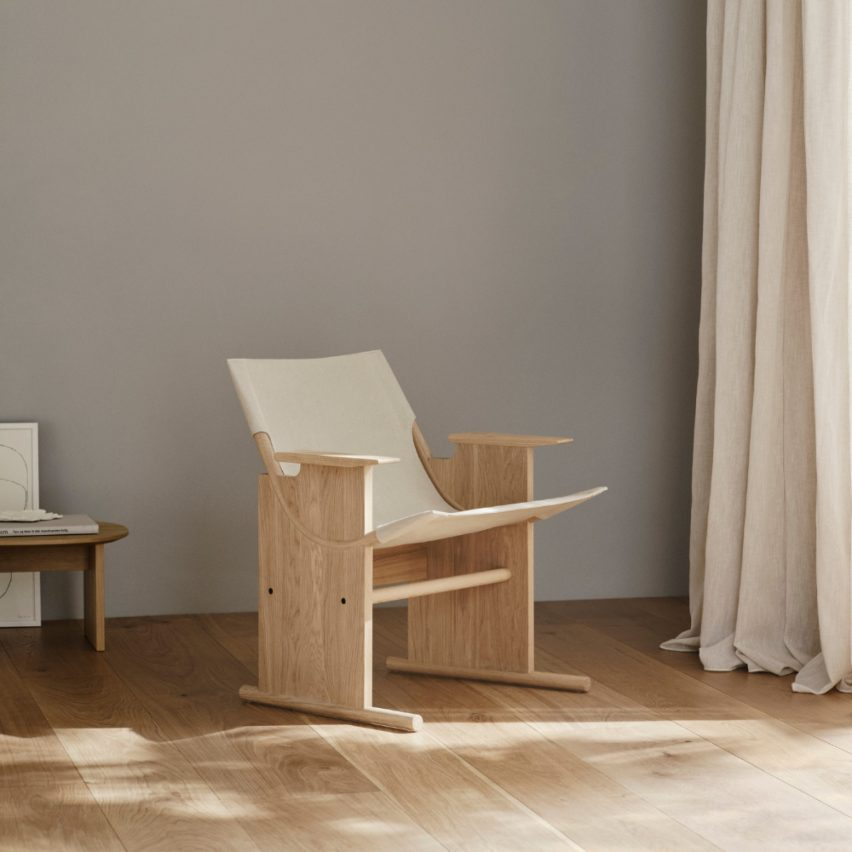 Sling Lounge Chair designed by Sam Hecht and Kim Colin by Takt