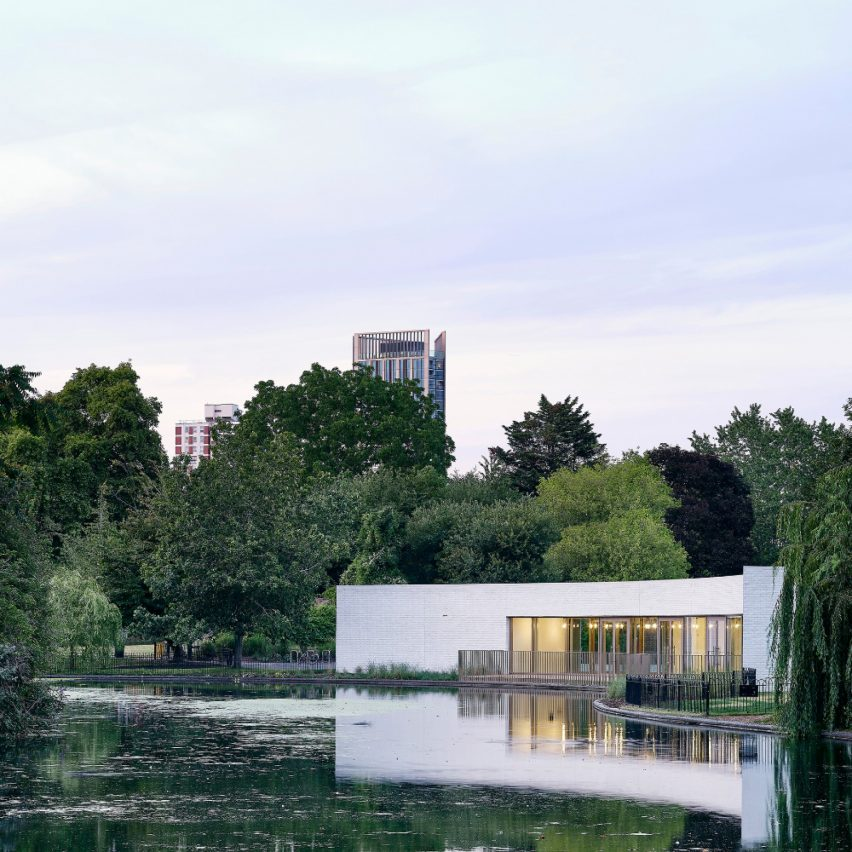 Southwark Park Pavilion and Cafe in London, UK, by Bell Phillips Architects