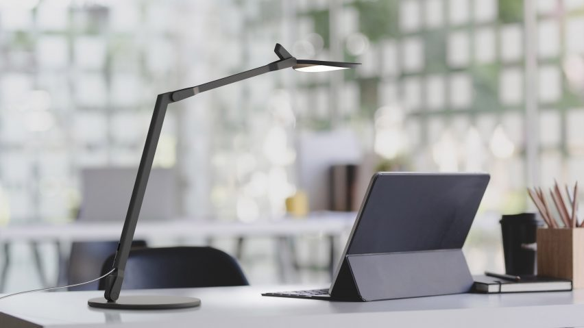 Splitty Reach desk lamp by Kenneth Ng and Edmund Ng for Koncept