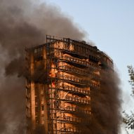 """Milan apartment block fire """"closely recalled Grenfell Tower"""" says mayor"""