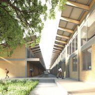 "Adjaye Associates designing 101 hospitals ""to transform Ghana's medical system"""