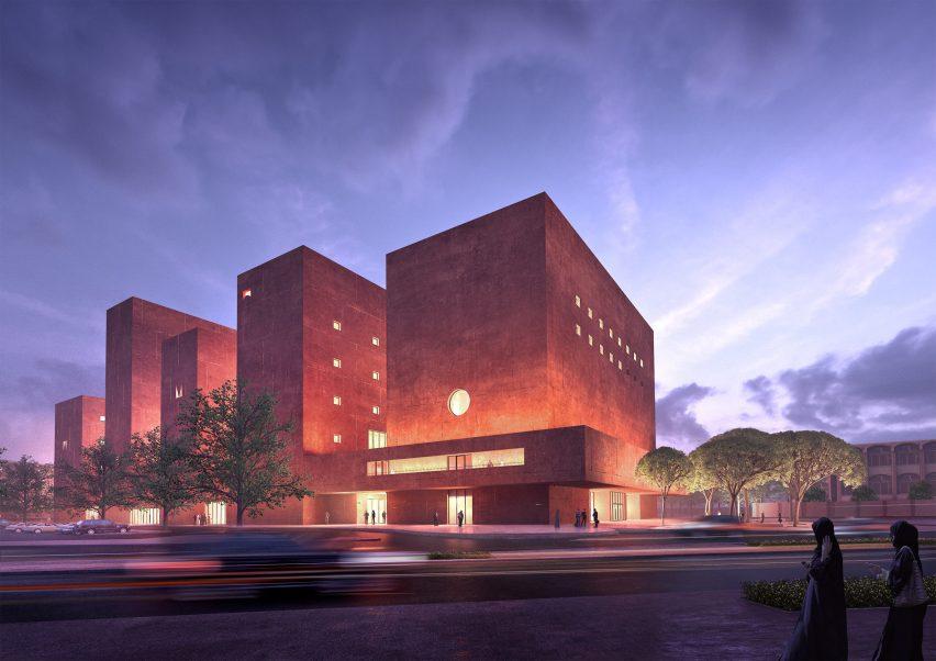 The proposed campus The Africa Institute