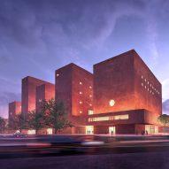 Adjaye Associates designs monolithic campus for The Africa Institute in Sharjah