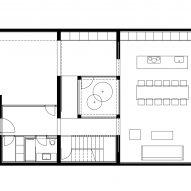 ground floor plan of alaro house