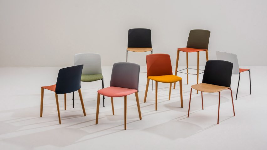 Mixu chairs by Arper with Gensler