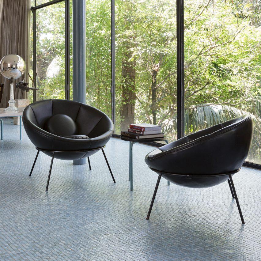 The Bowl Chair by Lina Bo Bardi