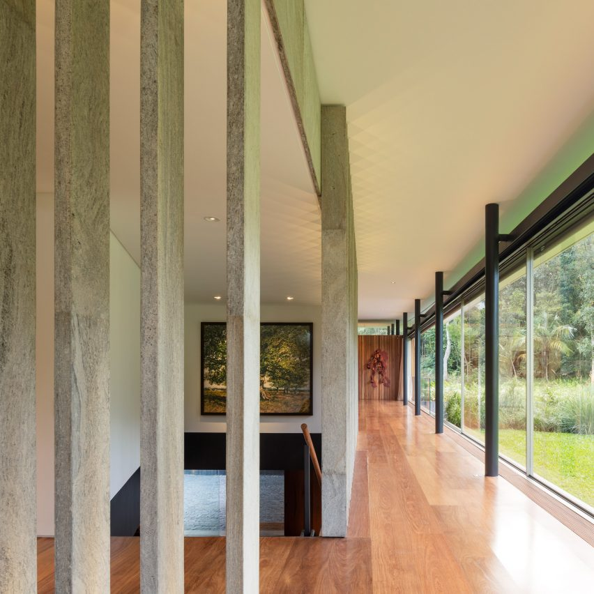 Living room Asa House Rio by Bernardes Architecture