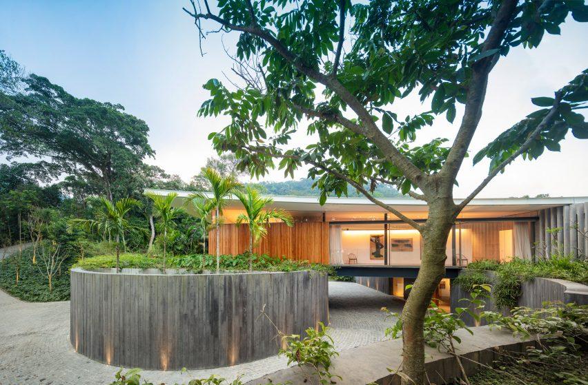 Wing House Bernardes Architecture Rio