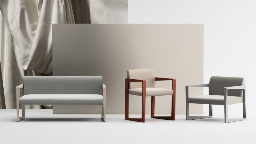 Askew sofa, dining chair and lounge chair by StyleNations