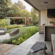 Atherton pavilions by Feldman Architecture in California