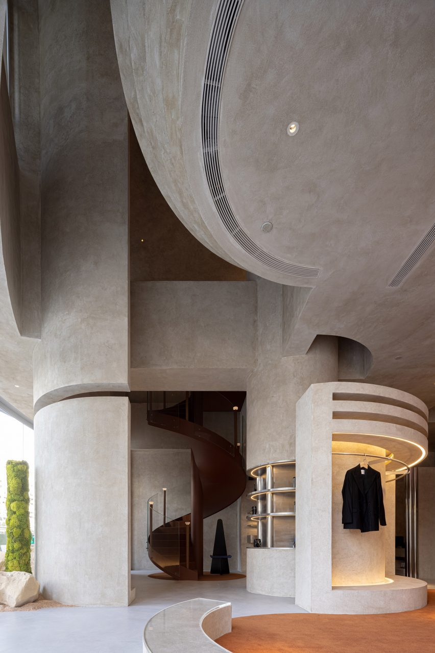 Micro-cement interiors