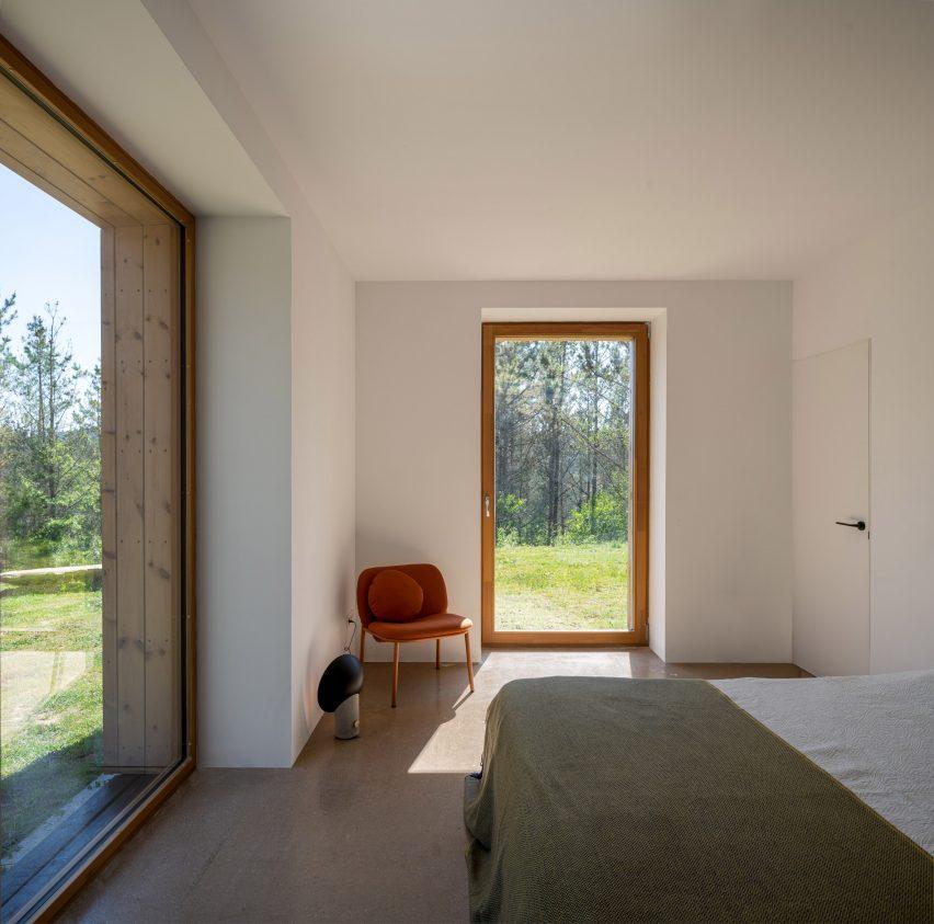 The bedroom in Caserío Azkarraga