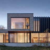 Drew Mandel designs country home overlooking a woodland site in Canada