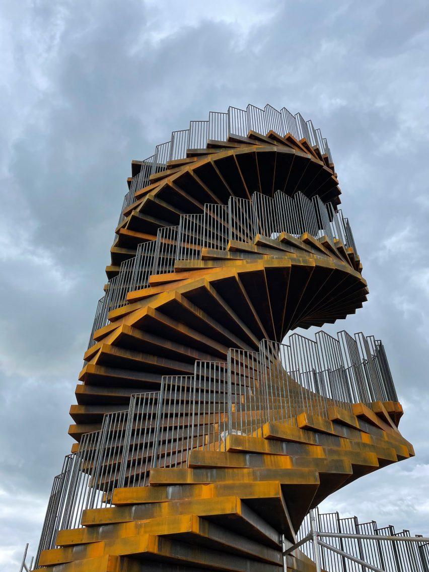 Corten tower in Denmark