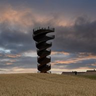BIG's spiralling double-helix viewing tower revealed
