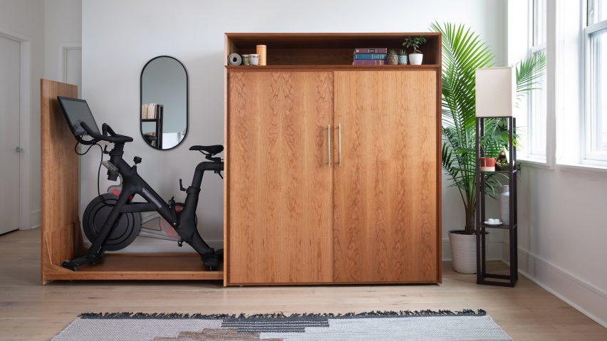 Boitier for Bike cabinet by Boitier