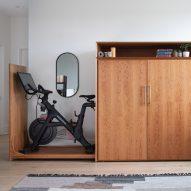 Boîtier for Bike cabinet by Boîtier