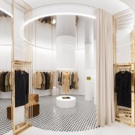 Vincenzo De Cotiis pays homage to Burberry check in brand's London flagship