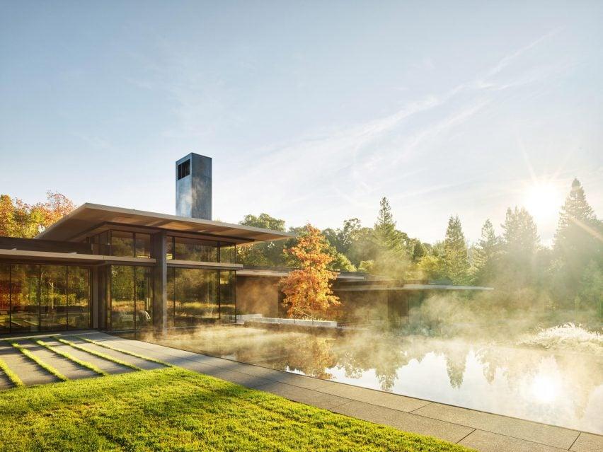 California Meadow House par Olson Kundig
