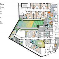 Floor plan, CAMHS Edinburgh