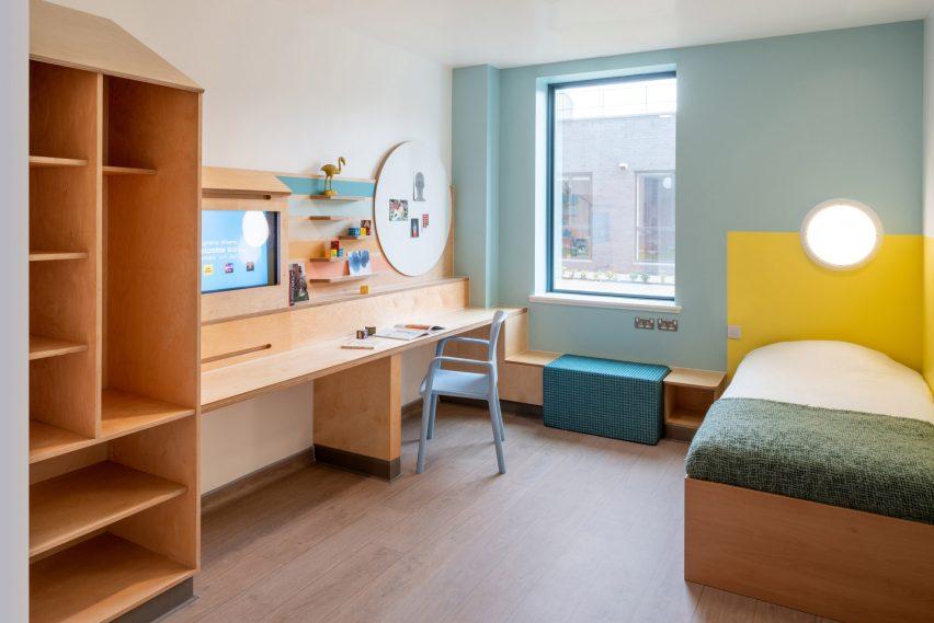 Room at CAMHS Edinburgh