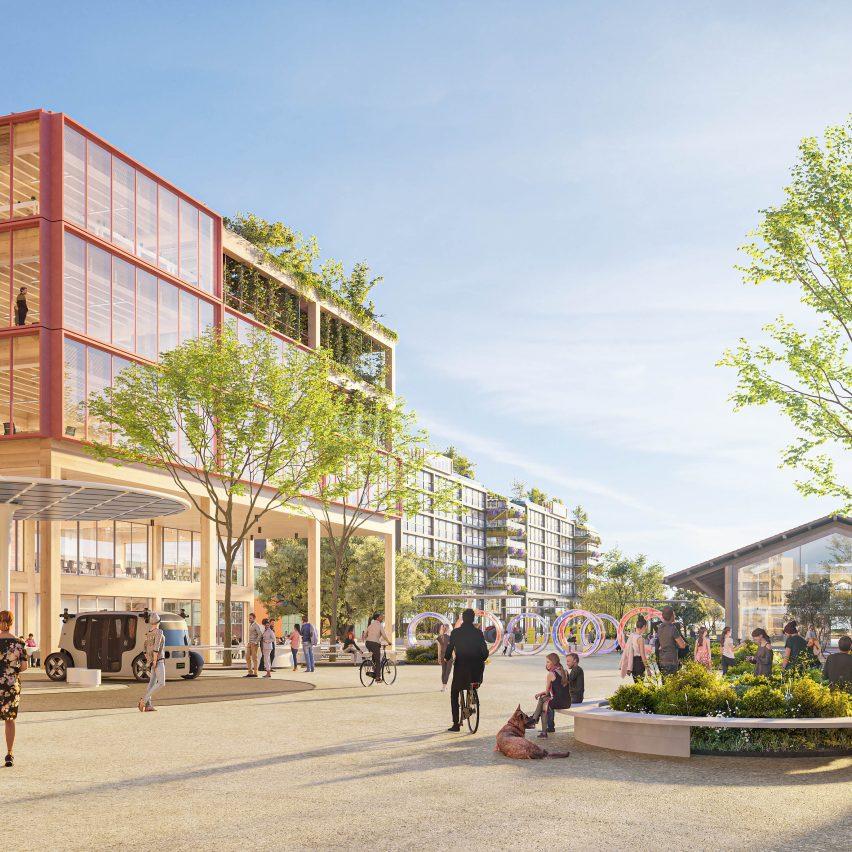 Campo Urbano masterplan for Rome by Arney Fender Katsalidis