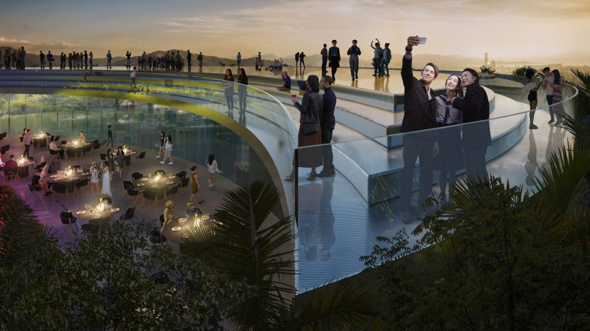 The tower will have a roof top terrace