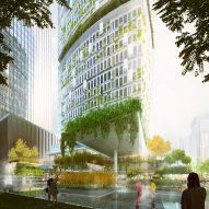 """Carlo Ratti Associati designs hydroponic """"farmscraper"""" for Shenzhen"""