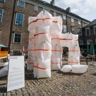 """Chart Art Fair installs five """"social architecture"""" pavilions in Copenhagen"""