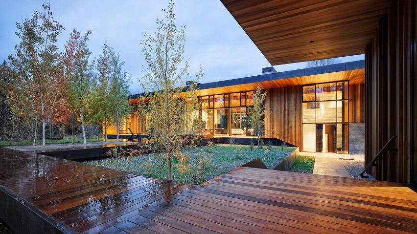The Riverbend house