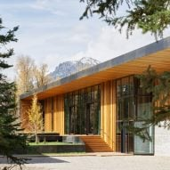 CLB Architects' steel-wrapped Wyoming residence will weather over time
