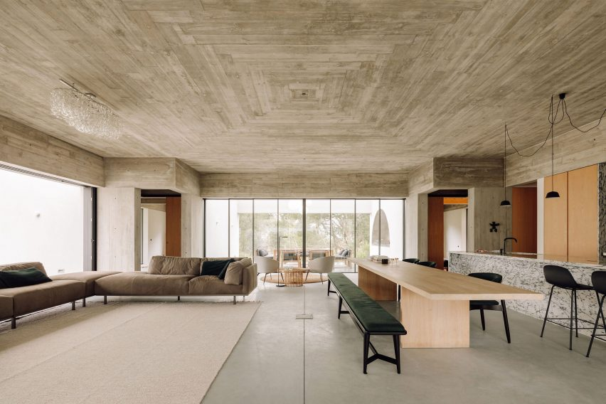 living space was created by Atelier Rua