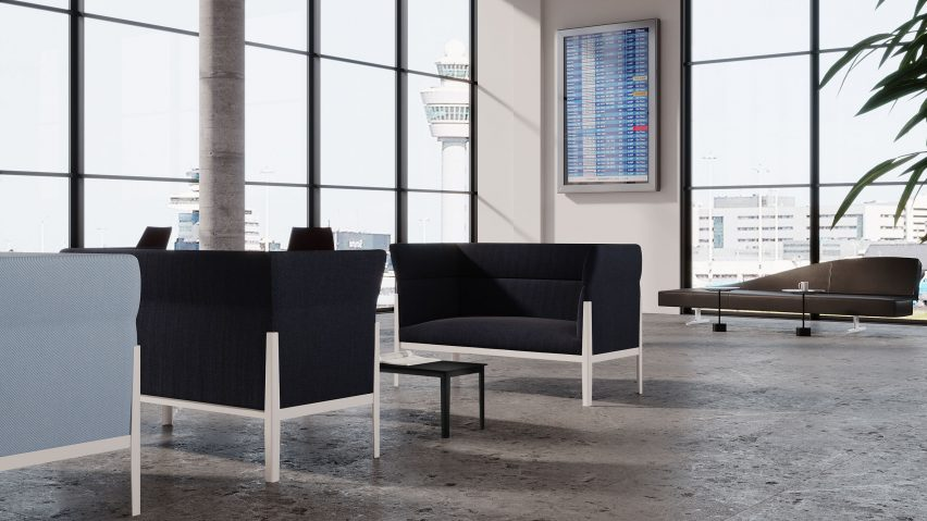 Cotone Slim sofa by Ronan and Erwan Bouroullec for Cassina