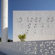 Mosque of the Late Mohamed Abdulkhaliq Gargash in Dubai by Dabbagh Architects