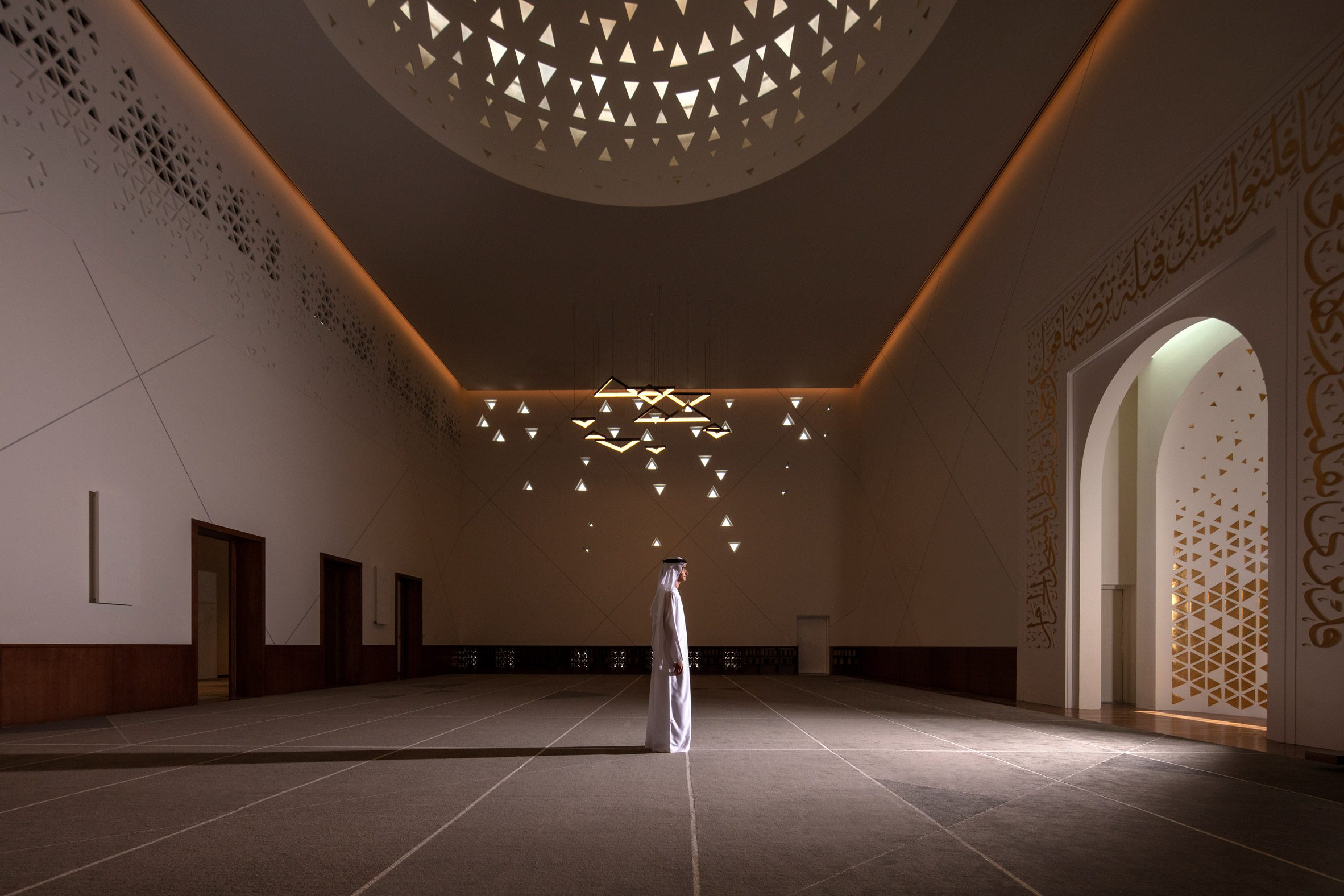 Main prayer room