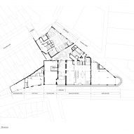 Site plan, The Department Store Studios by Squire and Partners