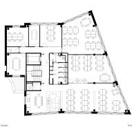 First floor plan, The Department Store Studios by Squire and Partners