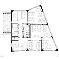 Third floor plan, The Department Store Studios by Squire and Partners