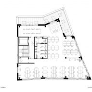 Fourth floor plan, The Department Store Studios by Squire and Partners