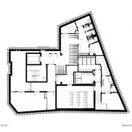 Basement floor plan, The Department Store Studios by Squire and Partners
