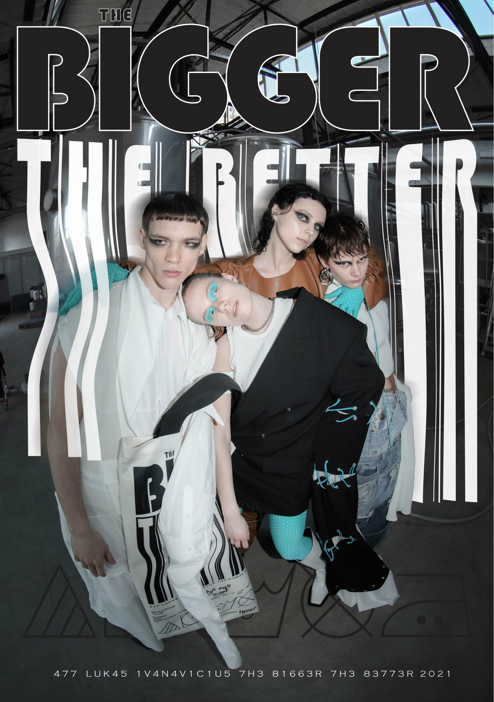 The Bigger The Better fashion collection by Lukas Ivanavičius