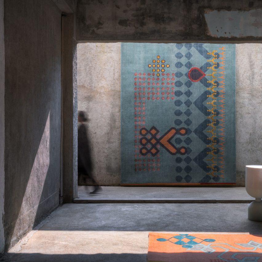 Kolam Carpets by Tania and Sandeep Khosla