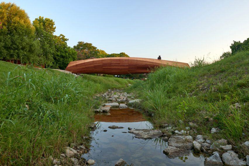 Bridge resembling driftwood
