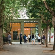 DSDHA unveils revamped National Youth Theatre in north London