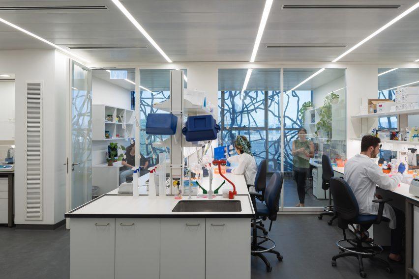 A laboratory interior