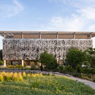 The exterior of Edmond and Lily Safra Center for Brain Sciences