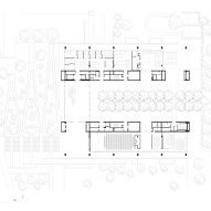 Ground floor plan of the Edmond and Lily Safra Center for Brain Sciences