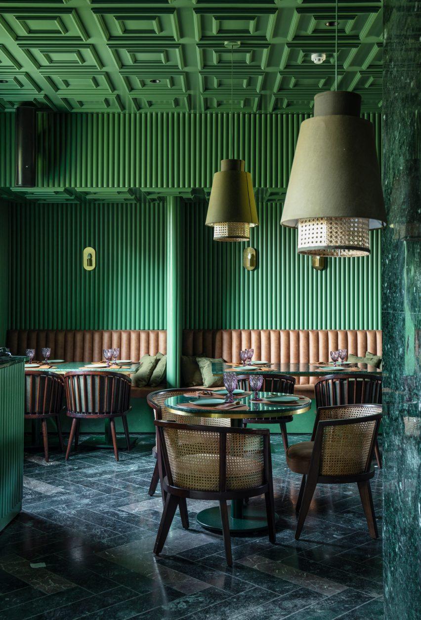 Elgin Cafe by Renesa Studio in Punjab
